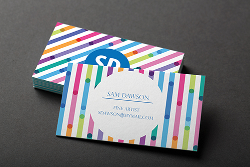 Painted edge business card evoprint business cards colourmoves